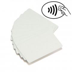 Cartão Zebra PVC branco UHF, RFID Monza 4QT